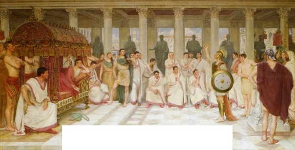The Appeal Of The Legionary To Caesar Augustus