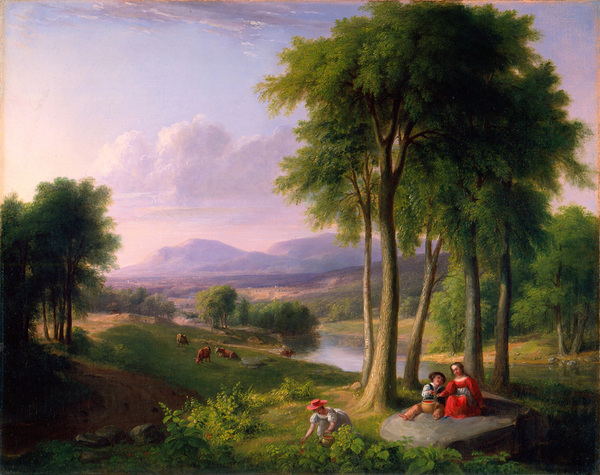 The Berry Pickers - View Near Rutland, Vermont