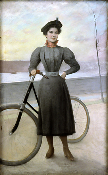 The Bicyclist, Miss Furstner
