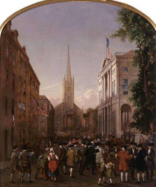 The Inauguration Of George Washington (with Charles G. Rosenberg)