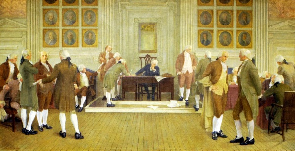 The Signing Of The American Constitution