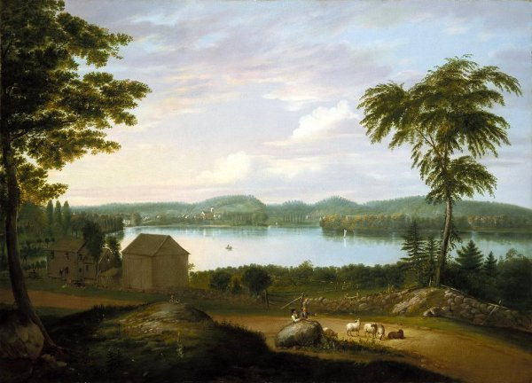 View Of Springfield On The Connecticut River