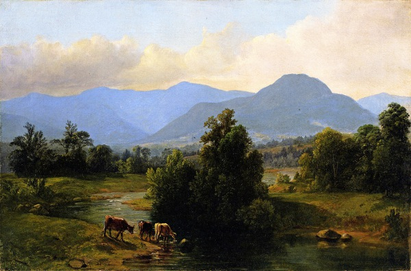 View Of The Shandaken Mountains, New York