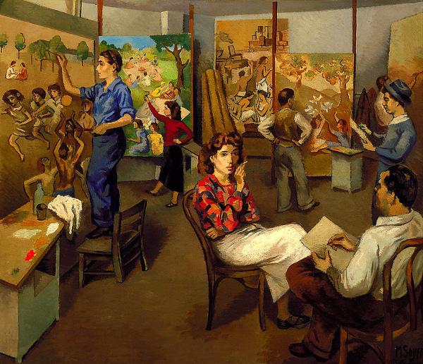 Artists On WPA