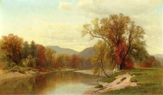 Autumn On The Saco River
