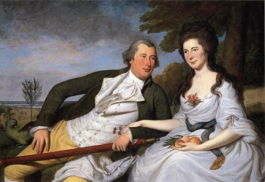 Benjamin And Eleanor Ridgley Laming
