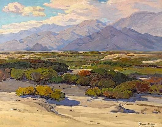 Desert Floor, Indio, California