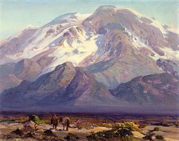 Desert Landscape With Figures