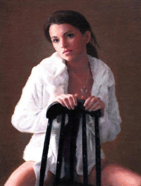 Haeley In White Fur