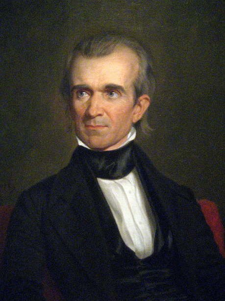 James K. Polk (detail)