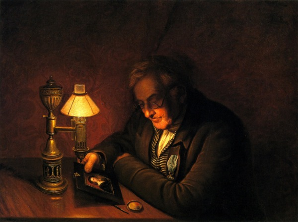 James Peale - The Lamplight Portrait