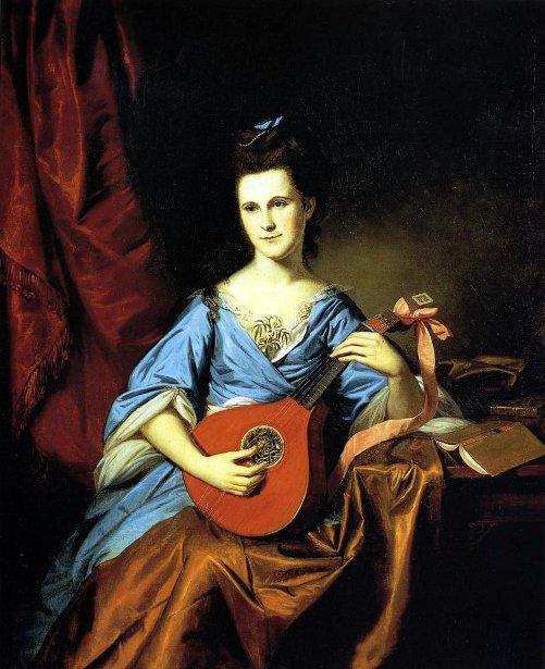 Julia Stockton (Mrs. Benjamin Rush)