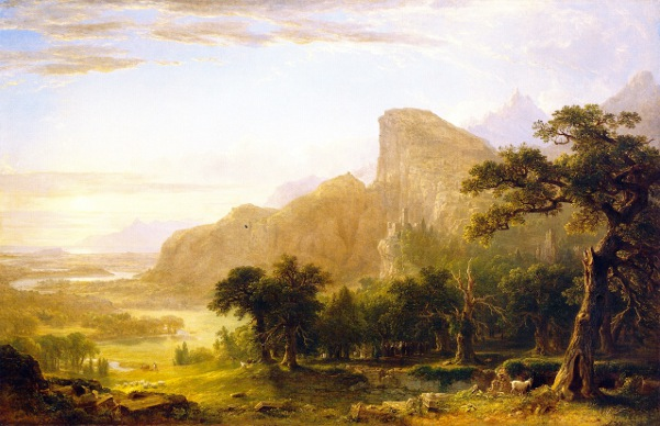 Landscape - Scene From Thanatopsis