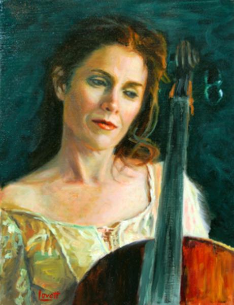 Laurel (My Wife) & Cello