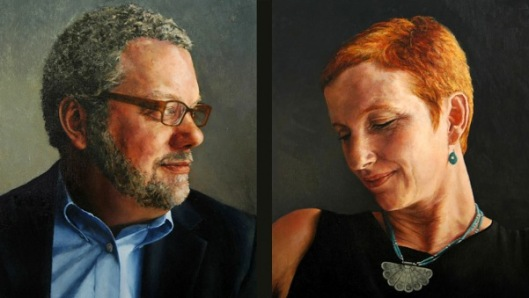 Marriage Portrait - Gregory And Suzanne Wolfe