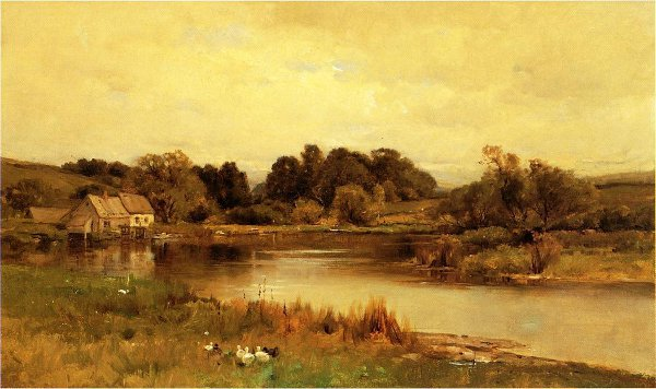 Mill Pond At Ridgefield, Connecticut