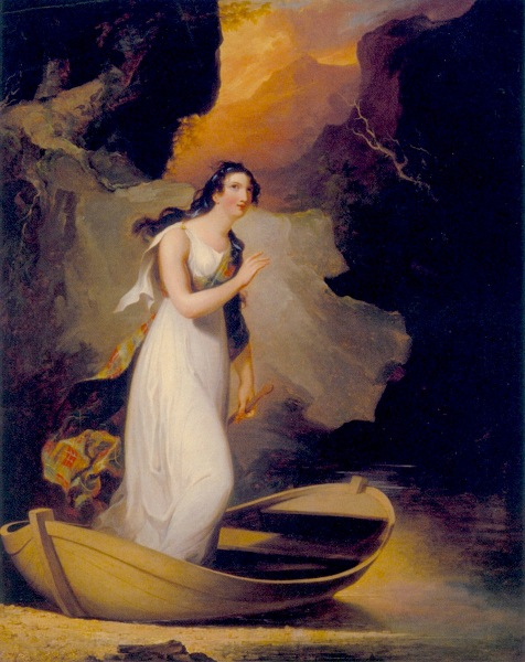 Miss C. Parsons as The Lady Of The Lake