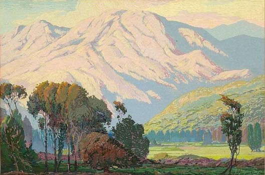 Mountain Scene - Landscape With Mountains
