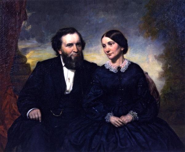 Mr. And Mrs. Joshua Fry Speed