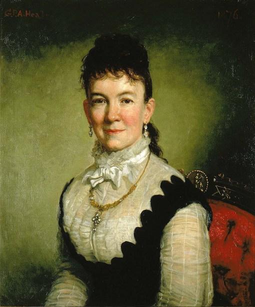 Mrs. Albert J. Myer (Catherine Walden)