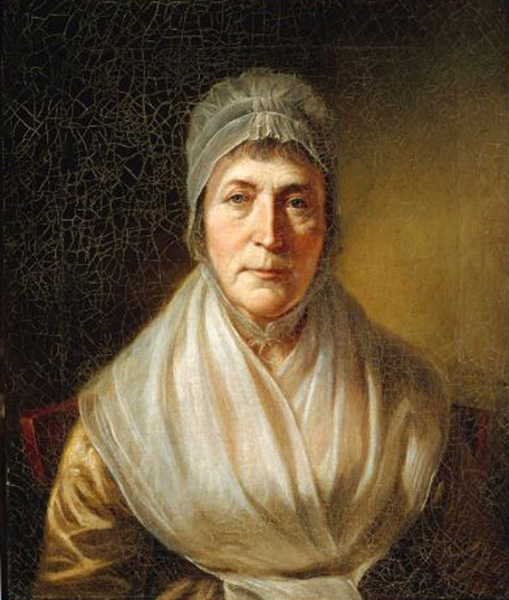 Hannah Moore Peale (The Artist's third wife)