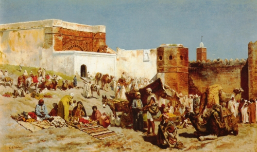 Open Market, Morocco