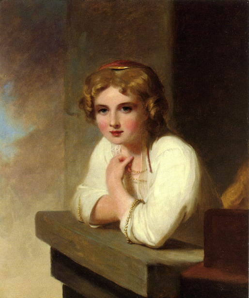 Peasant Girl (after Rembrandt's Young Girl Leaning On A Windowsill)