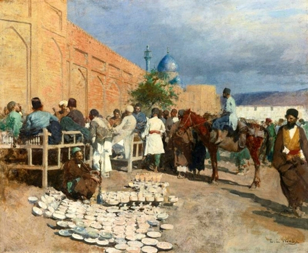 Persian Cafe - The Pottery Seller