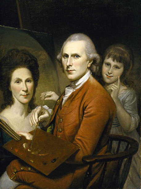 Self Portrait With Angelica And Portrait Of Rachel