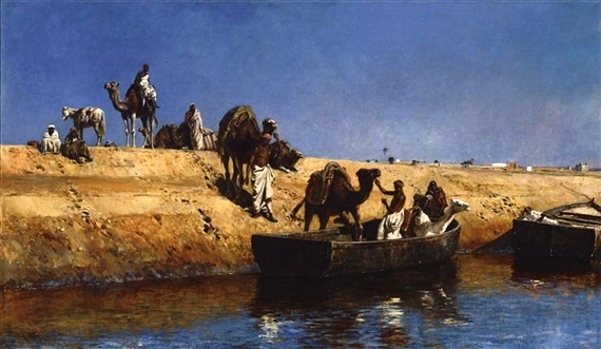 The Camel Transport, Morocco
