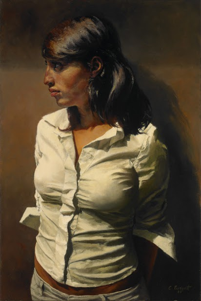 The Spanish Profile - Portrait Of Caterina