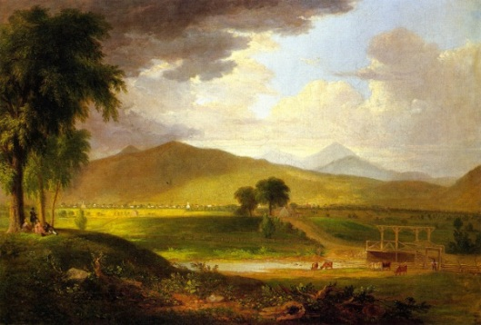 View Of Rutland, Vermont