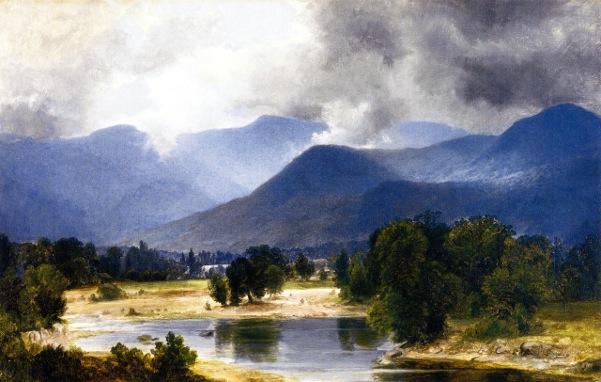 View Of The Shandaken Mountains