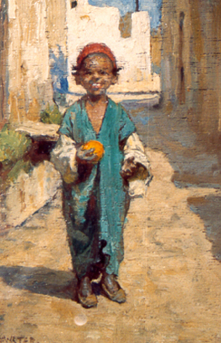 A Young Algerian Boy
