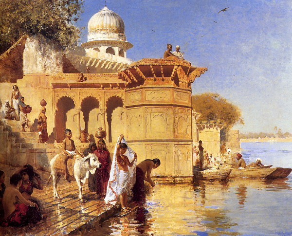 Along The Ghats, Mathura