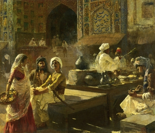An Open-Air Kitchen, Lahore, India
