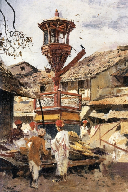Birdhouse And Market, Ahmedabad, India