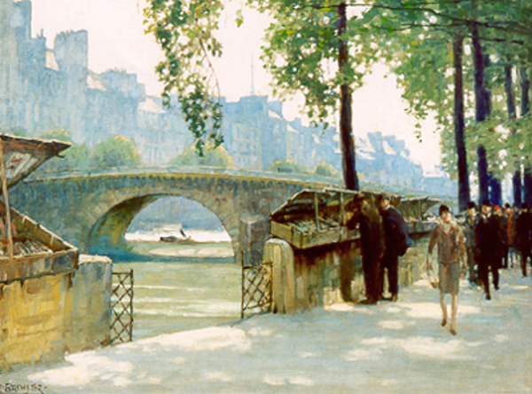 Bookstalls On The Seine