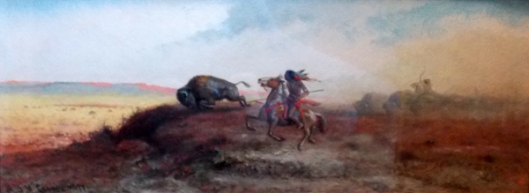 Buffalo Hunt (courtesy of Mr. Edward Peterson)