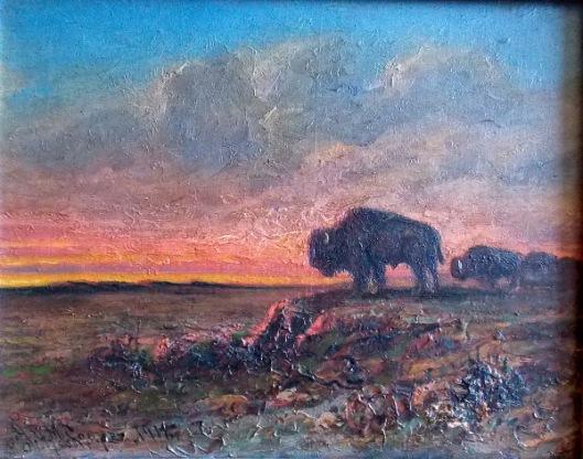 Buffalo Sentinel (courtesy of Mr. Edward Peterson)