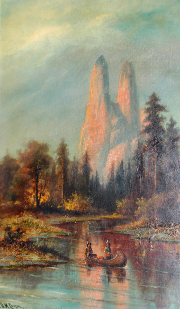 Cathedral Spires (courtesy of Mr. Edward Peterson)