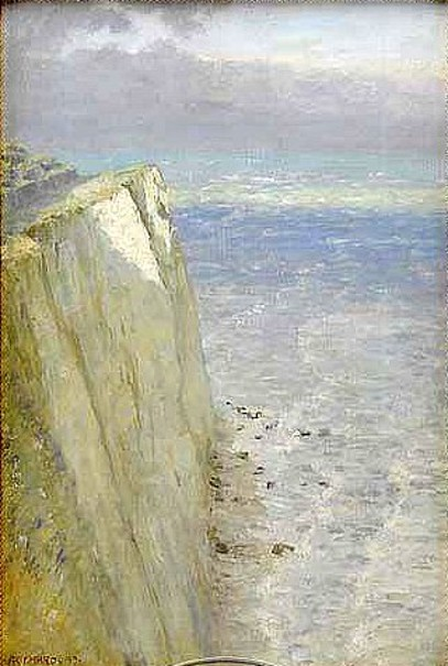 Chalk Cliffs, Isle Of Wight