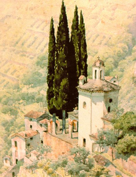 Chapel Near Menaggio, Lake Como