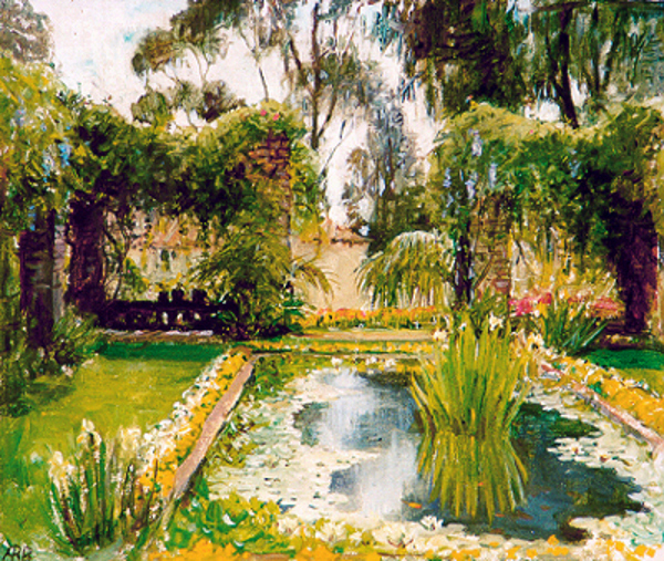 Garden In Santa Barbara, California