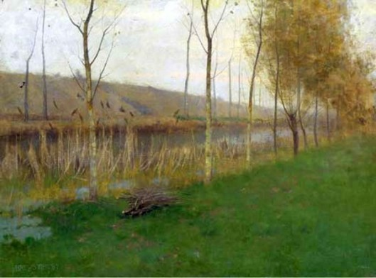 Landscape With A Canal