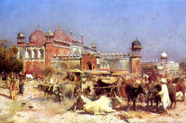 Market Place At Agra