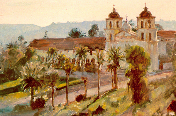 Mission At Santa Barbara