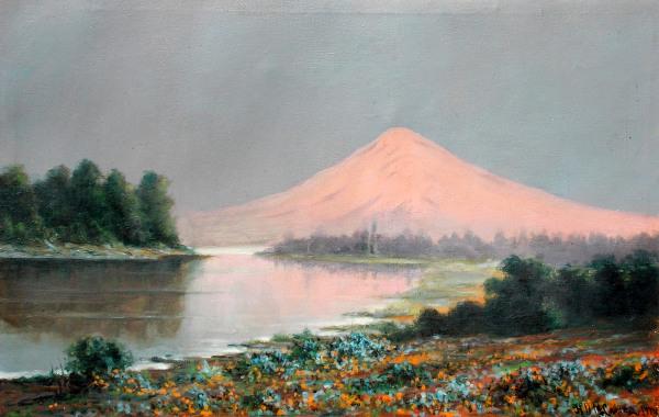 Mountain Sunset (courtesy of Mr. Edward Peterson)