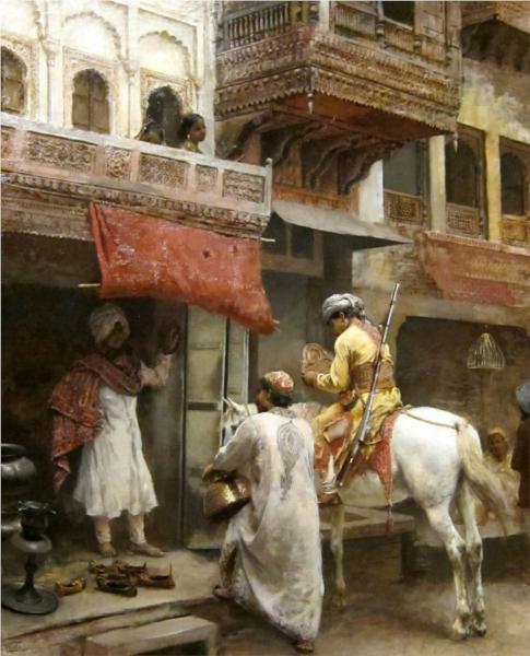 Street Scene In India