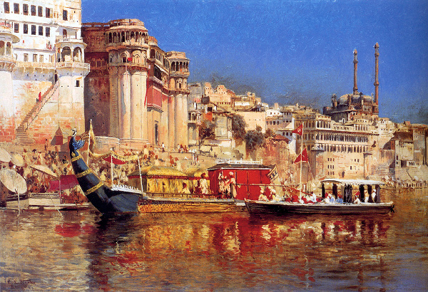 The Barge Of The Maharaja Of Benares